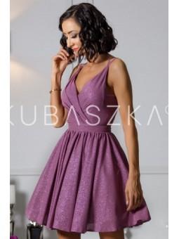Sukienka Elisabeth - jagodowa poświata