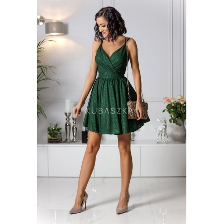 Sukienka Elisabeth -zielona poświata